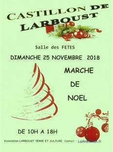 Marché de Noël Castillon de Larboust