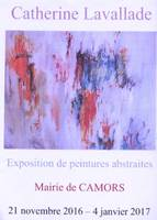 Exposition de peintures abstraites de Catherine Lavallade