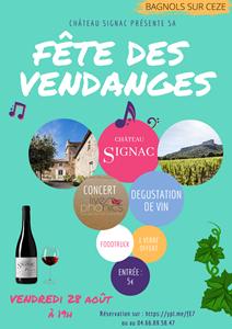 Fête des Vendanges au Château de Signac