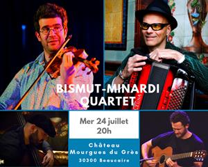 Concert Bismut-Minardi Quartet