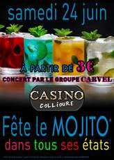 Soirée MOJITO à 3 € samedi 24 juin à Collioure