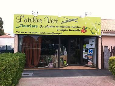 FLEURISTE Atelier vert