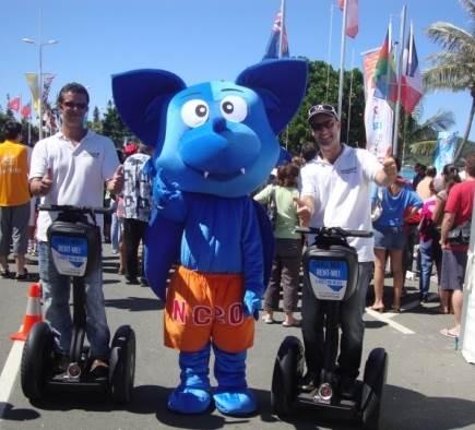Mobilboard aux Jeux du Pacifique 2011