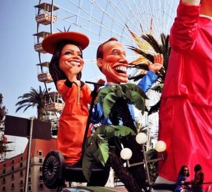 Le gyropode Segway au carnaval de Nice 2012 !
