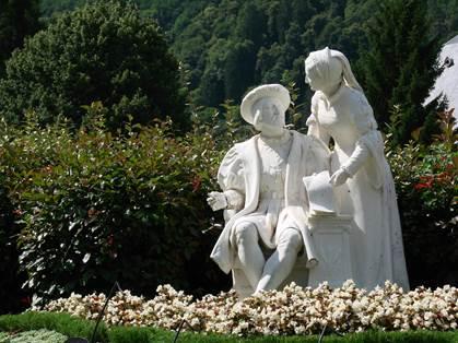 François 1ér et sa soeur Marguerite d'Anngoulême