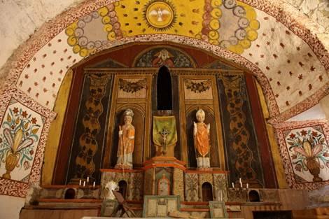 Eglise de la Moraine Intérieur Détail