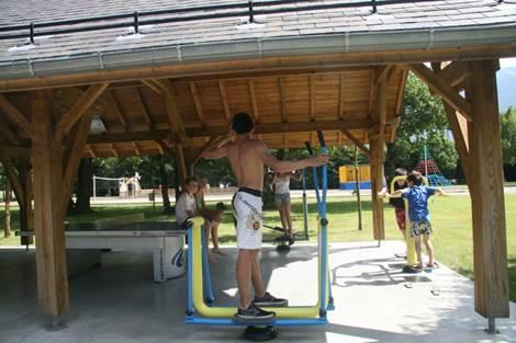 Camping Pradelongue Fitness