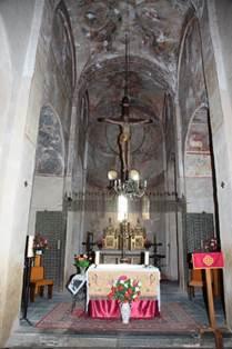 Eglise de Saint-Aventin Autel