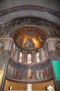 Fresques Eglise de Luchon