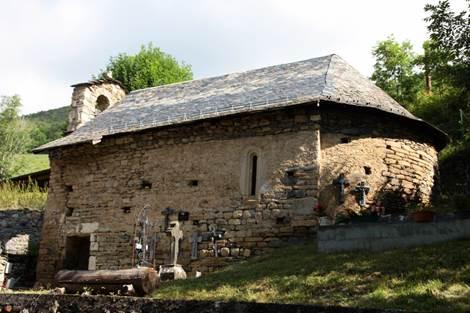Eglise de Bernet Extérieur Profil