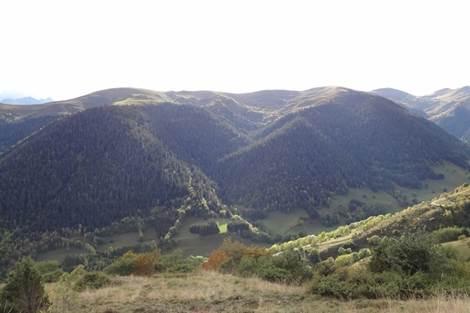 Vue de la vallée