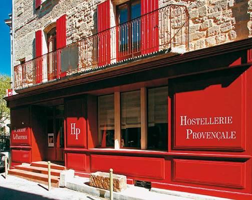 Hostellerie Provençale - façade