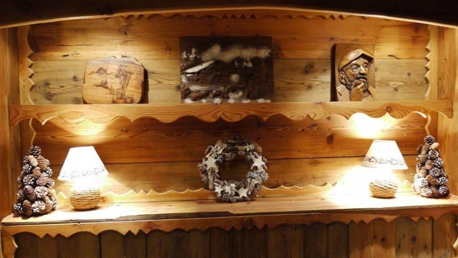 Détails décoration de Noêl
