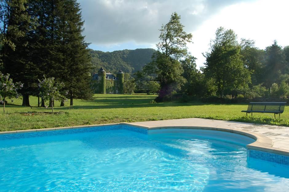 Château de Sedaiges - piscine