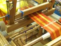 stage de tapisserie tissée de haute lisse