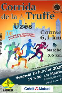 Corrida de la truffe - course pédestre