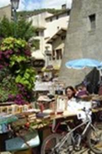 Vide grenier à Valleraugue dans le cadre des Authentiques