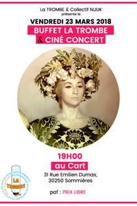 Buffet de la trombe et ciné concert