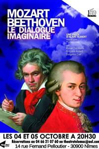 Mozart et Beethoven, le dialogue imaginaire d'Alain AUBERT