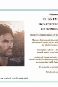 Concert Piers Faccini