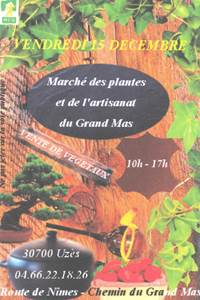 Marché des plantes et de l'artisanat au grand mas