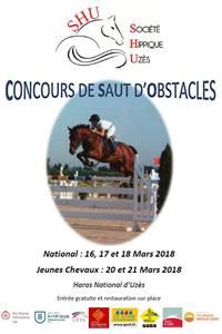Concours national de sauts d'obstacles