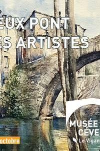 Le Vieux pont et les artistes