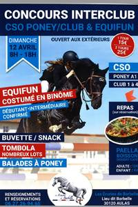 Concours Interclub Equifun