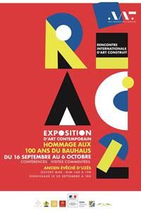 EXPOSITION D'ART CONTEMPORAIN : HOMMAGE AUX 100 ANS DU BAHAUS