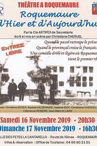 """Théâtre """"Roquemaure d'Hier et d'Aujourd'hui"""""""