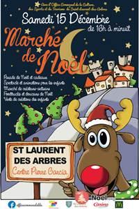 Marché de Noël à Saint-Laurent-des-Arbres