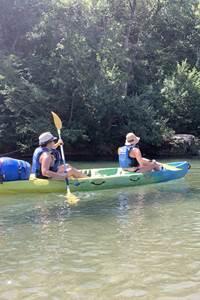 Descente de la Cèze en canoë, kayak ou paddle