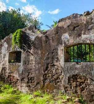 Prony prison remains