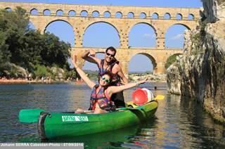 Kayak Vert Pont du Gard