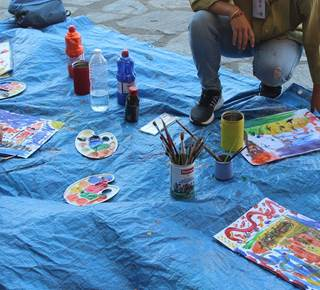 CHILDREN PAINTING WORKSHOP (To book)