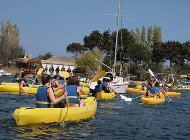 L'Ile aux loisirs Port Leucate