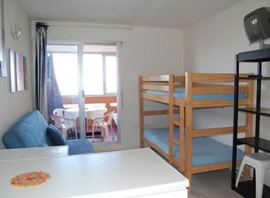 Appartement / 4 personnes / LES NEFS DES SABLES