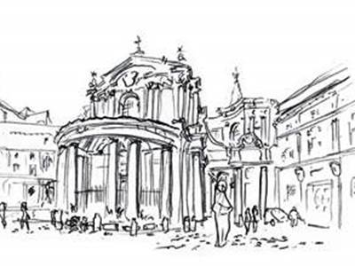 Stage de croquis à Rome