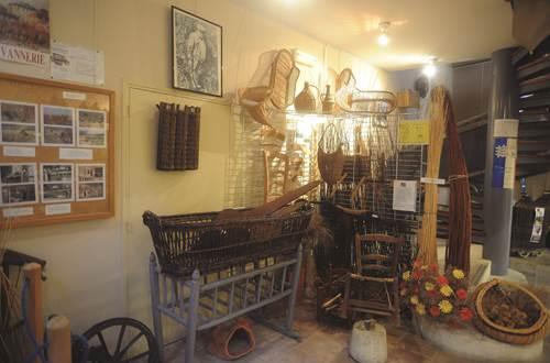 Musée de la Vannerie et de l'Artisanat ©