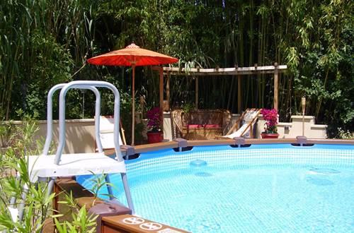 LE MAZET DE MANON piscine © PAILLE Rachel