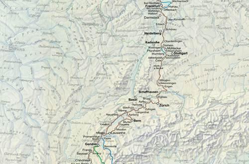 carte-itinéraire-culturel-europeen-sur-les-pas-des-huguenots ©