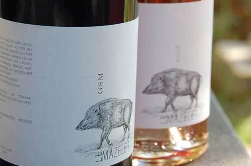 Vigneron Le Mazelet vin des Cévennes ©