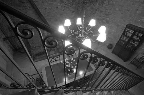 BARTHELEMY Marie - chambre luna escalier © BARTHELEMY Marie