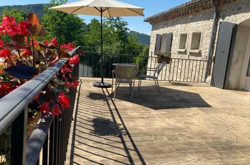 La terrasse fleurie ©