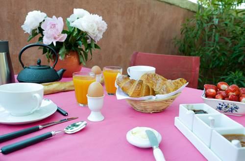 La Villa Léa petit-déjeuner © RIBEYRE Véronique