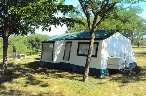 Mas Cauvy camping en Cévennes ©