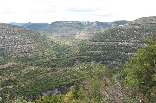 Gorges de la Vis au sud d'Alzon ©