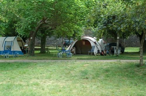Emplacement tente du VAL DE L'ARRE ©