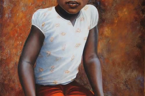 Sylvie Roussel Méric Fillette Burkina Faso © Sylvie Roussel Méric