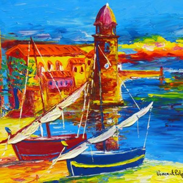 Art Expo Vincent Pulpito - Art Collioure